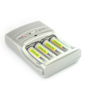 Cheap rechargeable batteries and charger